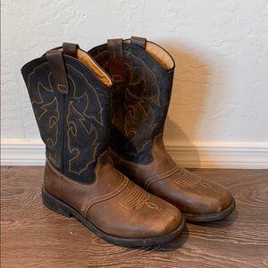 Wrangler Men's Western Work Boots